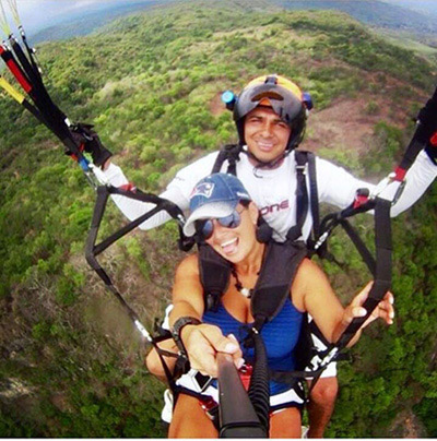 tandem in dominical, costa rica